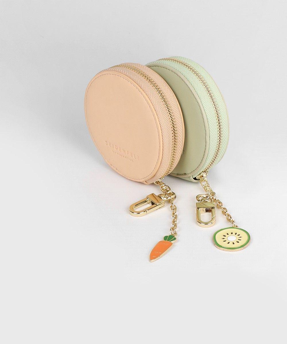 Seidenfelt Taschen Pouch Duo Lia Set Orange Green