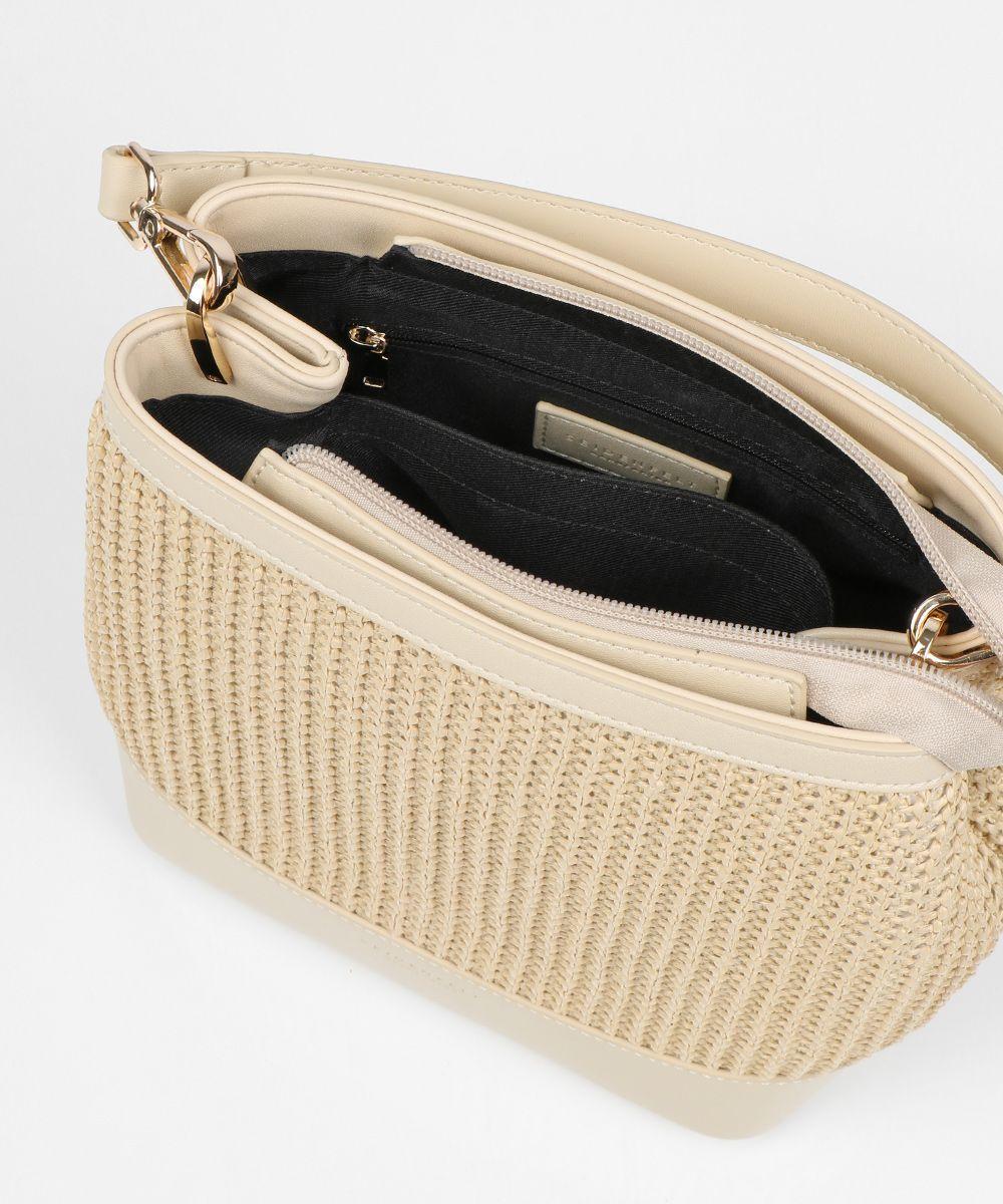 Seidenfelt Tasche Tarnby straw